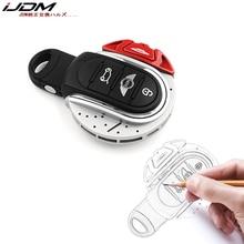 IJDMTOY красный JCW тормозной диск форма брелок оболочка Крышка для MINI Cooper 3rd Gen F55 F56 F57 F54, Gen2 F60 земляк умный ключ