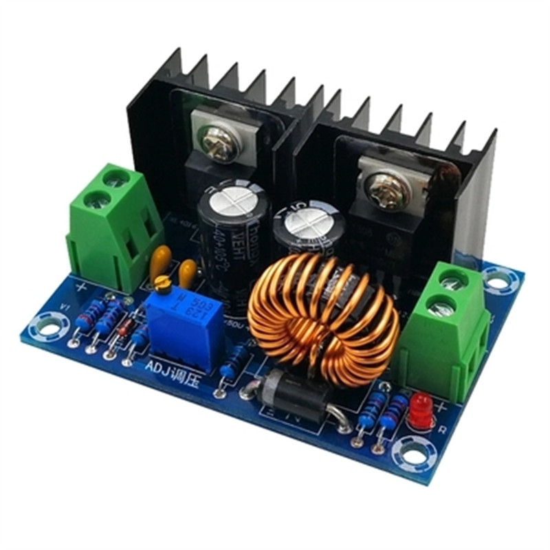 Step-down power supply module DC4-40v to DC1.25-36v 8A 200w adjustable XL4016E1 DC-DC DC voltage regulator buck module xh m401 dc dc step down buck converter power supply module xl4016e1 pwm adjustable 4 40v to 1 25 36v step down board 8a 200w