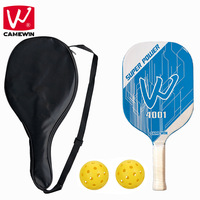 CAMEWIN Brand Pickleball Paddle | Set Includes One Pickleball Paddles + Two Balls + One Carrying Bag | Pickleball Racket Sets