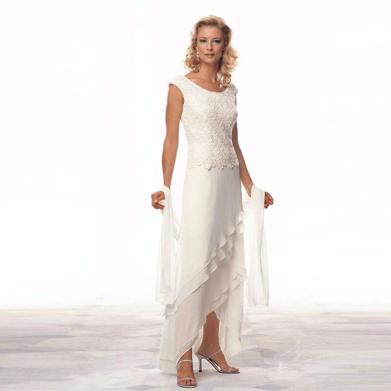 Bodenlangen Braut Hohe Verkauf Qualitymother Des Kleider Chiffon Tiered Anzüge Size Der Pant Heißer Plus Lace Bräutigams Mutter dPwIqw