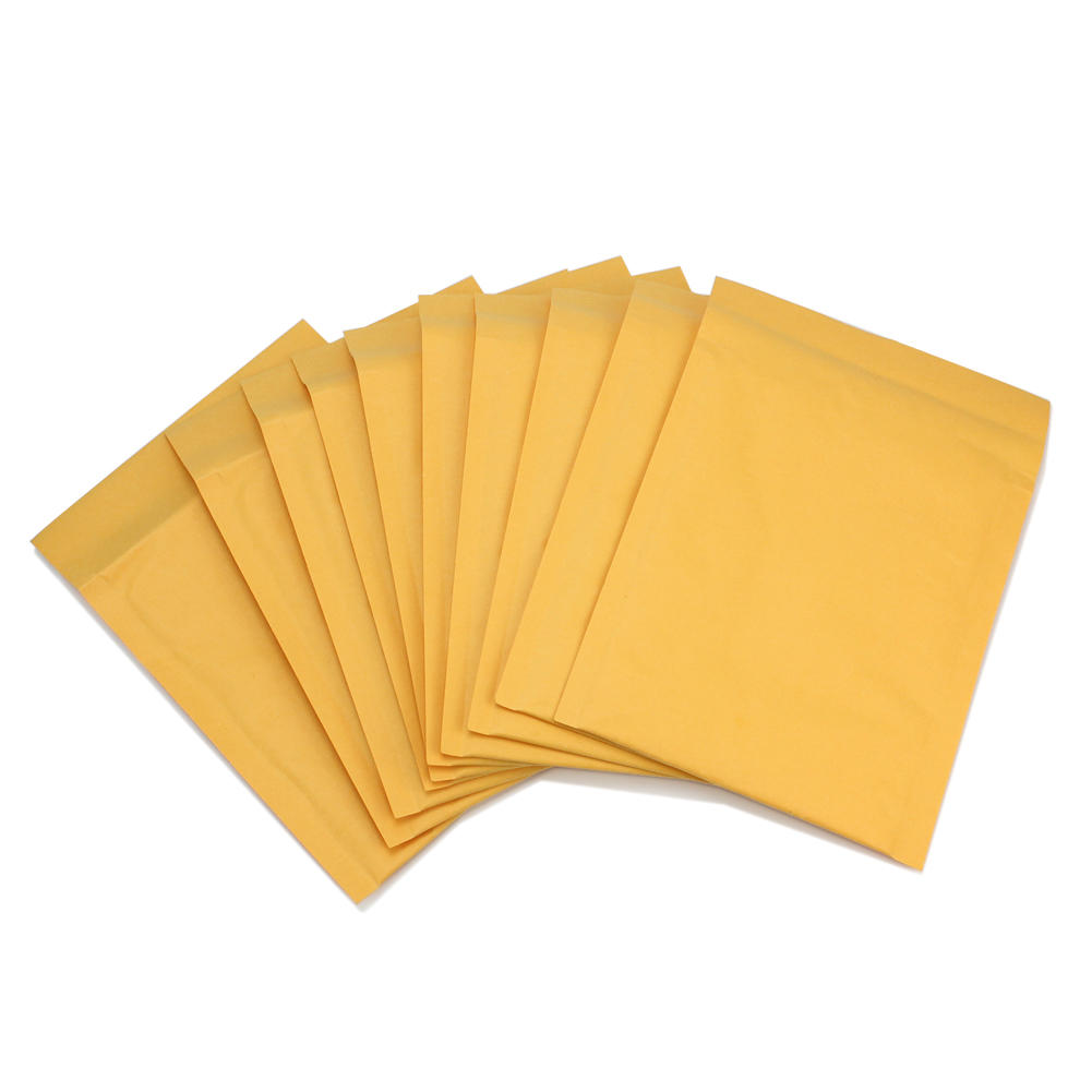 Wholesale 50pcs/lot Manufacturer Kraft Bubble Bags Mailers Padded Envelopes Paper Mailing Bags