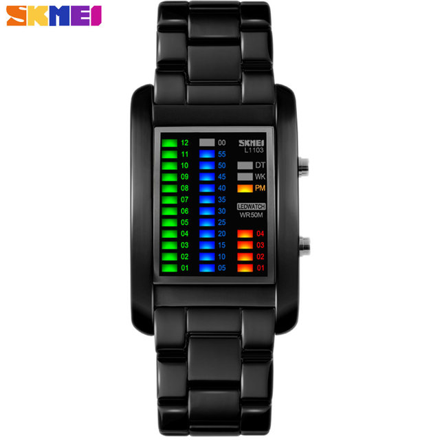SKMEI 2017 New popular Brand Men luxury creative Watches digital LED display 50M waterproof Wristwatches quality alloy band skmei 2017 new popular brand men luxury creative watches digital led display 50m waterproof wristwatches quality alloy band SKMEI 2017 New popular Brand Men luxury creative Watches digital LED display 50M waterproof Wristwatches quality alloy band SKMEI 2017 New popular Brand Men luxury creative Watches digital LED display 50M waterproof Wristwatches quality
