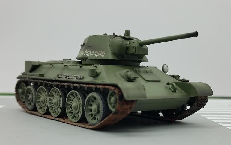 1: 72 modelo de tanque de T 34 76 de la Unión Soviética de la ...