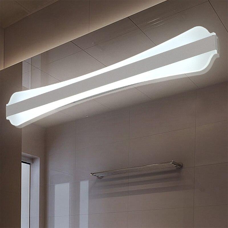 modern led mirror lights ac85 265v wall lamp bathroom bedroom headboard wall sconce lampe deco. Black Bedroom Furniture Sets. Home Design Ideas