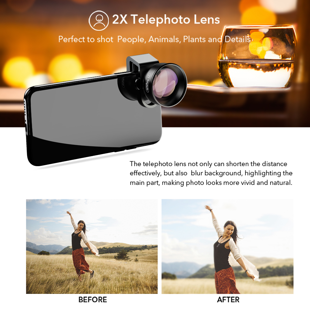 2x telescope lens
