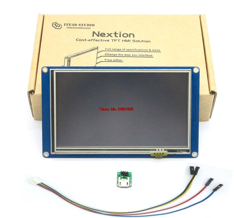 5 0 Nextion HMI Intelligent Smart USART UART Serial Touch TFT LCD Panel Display Module For