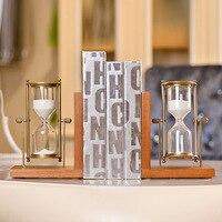 Американский c Творческий смолы песочные часы форзац книги Творческий рабочего бытовые мягкая мебель оптовая продажа подарок украшения