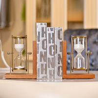 American C Creative resin hourglass bookend books Creative Desktop household soft furnishings wholesale gift ornaments