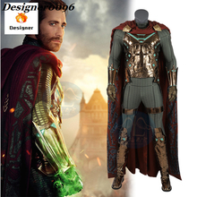 2019 New Spiderman cosplay spiderman away from home Cosplay Costume Quentin Beck 1:1 cos clothes Halloween party adult clothing