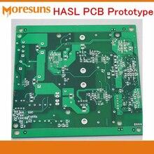 Быстро UL по ограничению на использование опасных материалов в производстве FR4 бессвинцовое выравнивание припоя горячим воздухом жесткая печатная плата PCB 2-4 слоев PCB плата быстрого прототипа PCB Образец плата PCB pcba производства