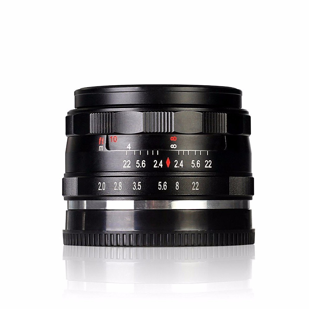 Brand Meike MK-N-50-2.0 50mm f2.0 Large Aperture Manual Focus lens APS-C For Nikon 1 mount mirrorless camera for Nikon V1 J1 vorke v1 mount