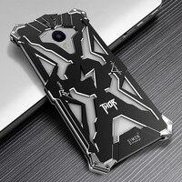 Luxury For Meizu Meilan E Back Cover Simon THOR IRONMAN Shockproof Metal Aluminium Frame Anti Knock