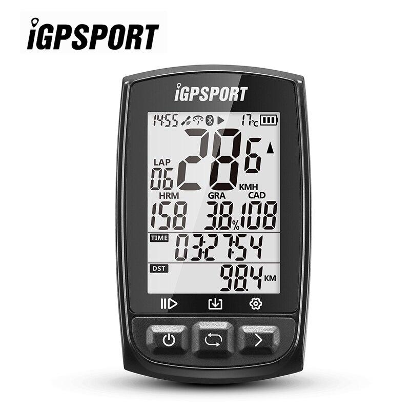 iGPSPORT iGS50E Велоспорт компьютер водонепроницаемость ipx7 муравей Bluetooth 4.0 и высокий чувствительный GPS Секундомер спидометр для велосипед Спорт фитнес бег