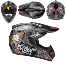 23 Colors Off Road Racing Bicycle Helmets Motocross Full Covered Foam Lining Protection Dirt Bike Moto Motorcycle Safety Caps