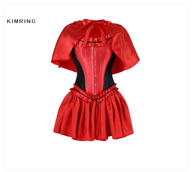 41b0a70fed kimring Sexy Little Red Riding Hood Halloween Costume Cosplay Adult ...