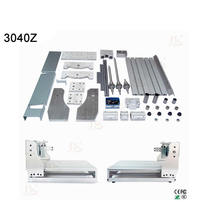 High precision diy cnc cutting machine 3040 with Ball screw for woodwork pcb engraving router