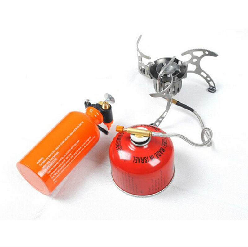 Newest Outdoor Kerosene Stove Burners and Portable Oil&Gas Multi Fuel Stoves Camping Cooking Stove BRS-8