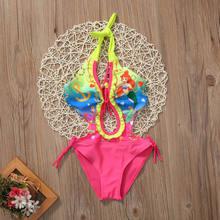 9c7be1b21 Una sola pieza sirena niños niña traje de baño Niño pequeño Niñas Natación  traje de baño Trajes Swim Trajes bañadores beachwear .