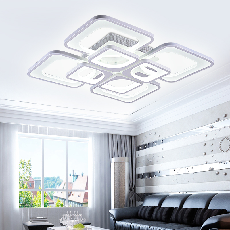 Kurze moderne led deckenleuchte wohnzimmer lichter leuchte ...