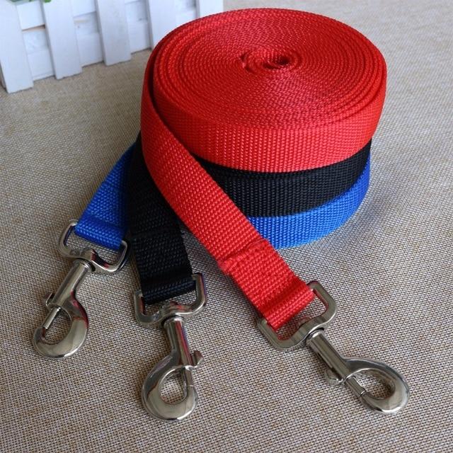 3 m/5 m/10 m x 2 cm Pet Guinzaglio Piombo Harness Collare Guinzaglio Cani Cat Wa