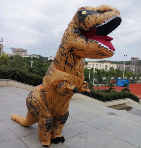 adult size inflatable dinosaurs clothing rider tyrannosaurus rex dinosaur inflatable halloween costume inflatable costume pvc