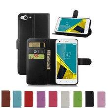 Лидер продаж, кошелек из искусственной кожи чехол для Vodafone Smart ultra 6 с функцией подставки и держатель для карт 9 цветов
