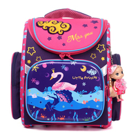 New Cartoon School Bag Girls Orthopedic Waterproof Backpack Children Satchel Elementary School Backpack For Boys Grade