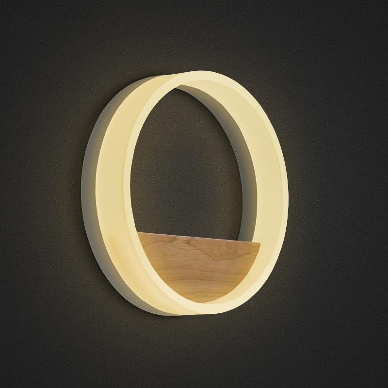 Moderne wandleuchte schlafzimmer wandleuchte licht acryl lampe für - Innenbeleuchtung - Foto 3