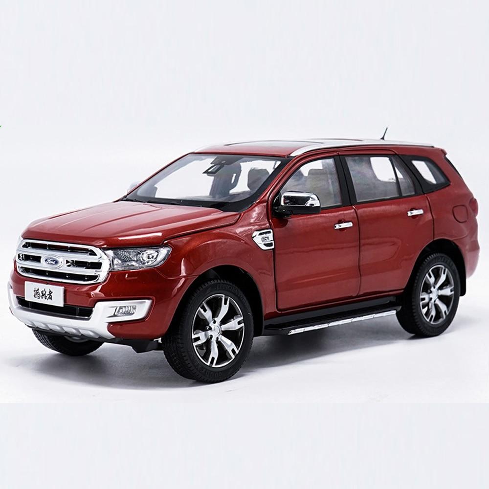 Échelle 1:18 Ford U375 SUV Voiture Moulé Sous Pression Modèle De Voiture Jouet Neuf Dans la Boîte Pour Le Cadeau/Collection/Enfants/ décoration