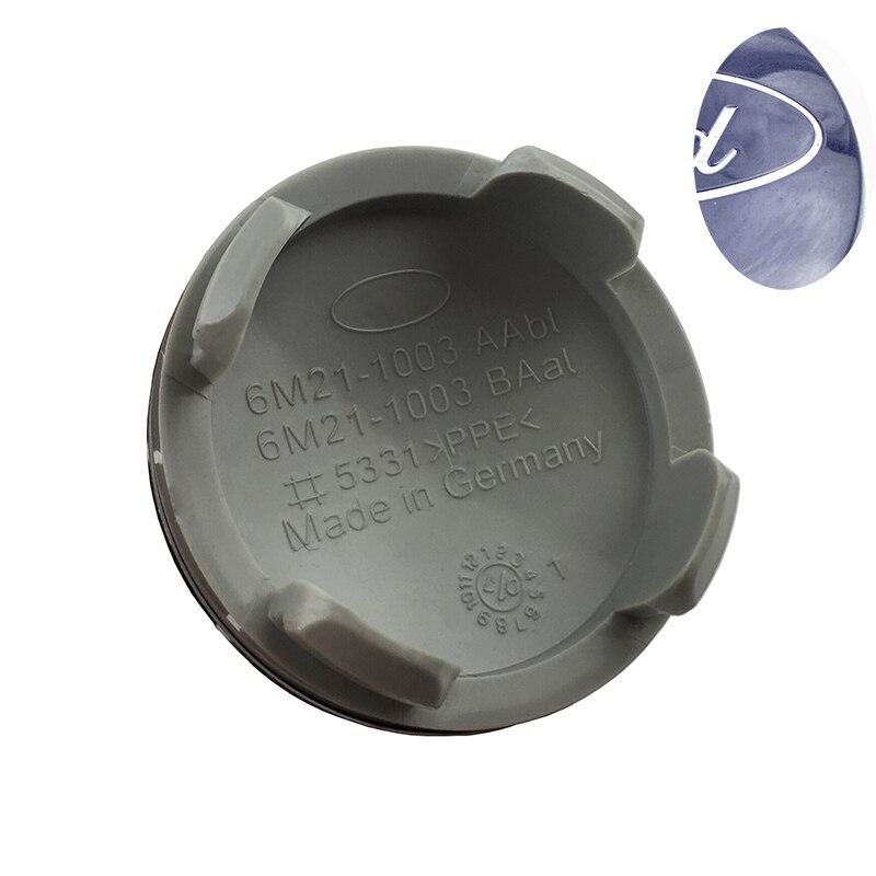 4 unids 54mm para car Wheel Hub Center CAPS emblema logo insignia para Ford Fiesta Focus Fusion Mondeo la CESPAP