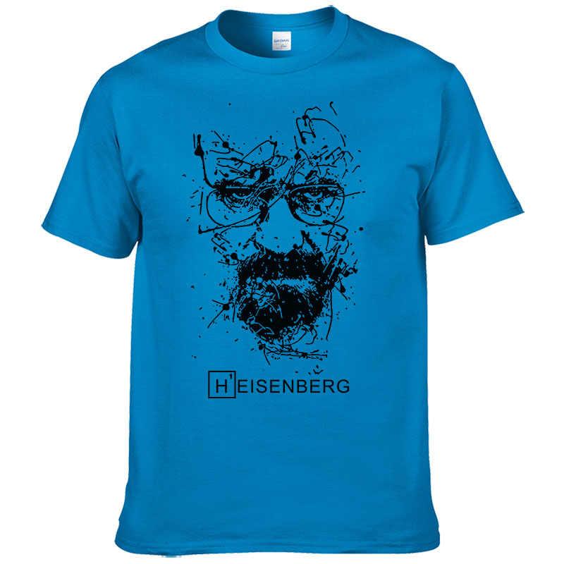 2019 新ファッション食客 Tシャツ男性ハイゼンベルグ Camisetas Hombre メンズクール Tシャツトップス半袖コットン Tシャツ