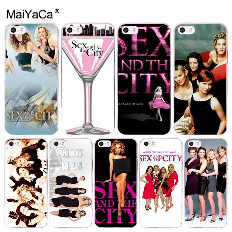 MaiYaCa <font><b>Sex</b></font> and the City girl Cool Phone Accessories <font><b>Case</b></font> for Apple <font><b>iPhone</b></font> 8 <font><b>7</b></font> 6 6S <font><b>Plus</b></font> X 5 5S SE 5C Cellphones XS XR XSMAX image