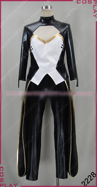 X-Men Storm Cosplay Costume Halloween Uniform Outfit Top+Pants Custom-made