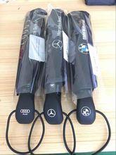 Neue Ankunft Auto logo big regenschirm Regen frauen mode oversize schwarzem sonnenschirme männer automatische business paraguas winddicht