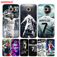 HAMEINUO Cool Cristiano Ronaldo CR7 cell phone case cover for Samsung Galaxy S7 edge PLUS S8 S6 S5 S4 S3 MINI(China)