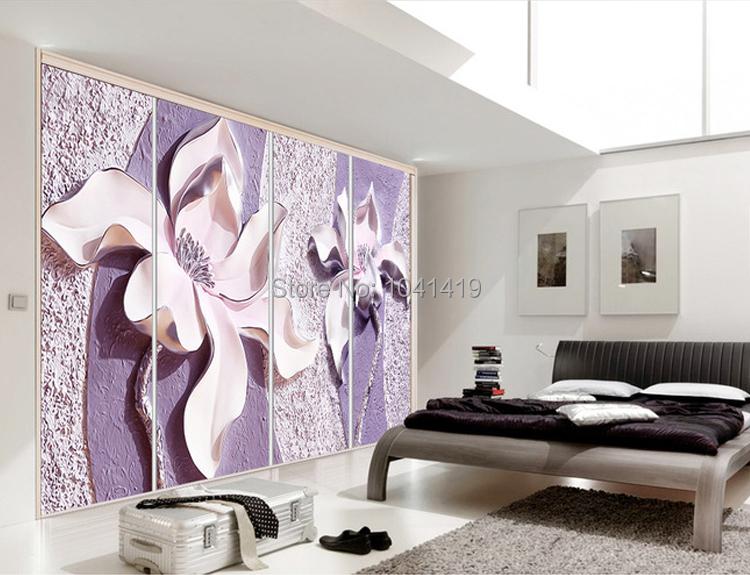 Niestandardowe Zdjęcia Tapety Stereoskopowe 3D Kwiaty Salon Sofa Tło Tapeta Nowoczesna Home Decor Pokoju Krajobraz Malowidła Ścienne 6