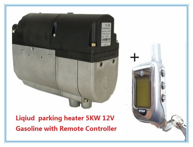 Car Liqiud Water Parking Heater 5kw 12v Gasoline With Remote Controller Similar Webasto Not Timer Control