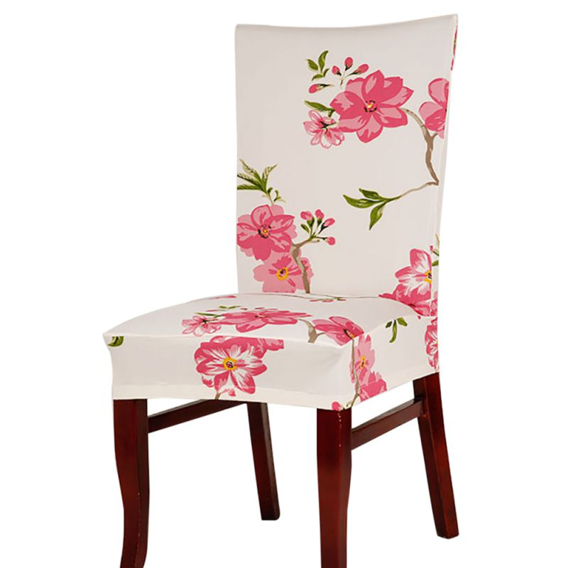 Dining Room Wedding Banquet Floral Chair Protect Seat Cover Slipcover Home Decor Hot SaleChina