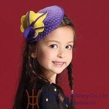 Дети девушка шапки на зиму повязка на голову новый маленькой девочки ну вечеринку аксессуары для волос на заказ дешево 100% шерстяная шапочка