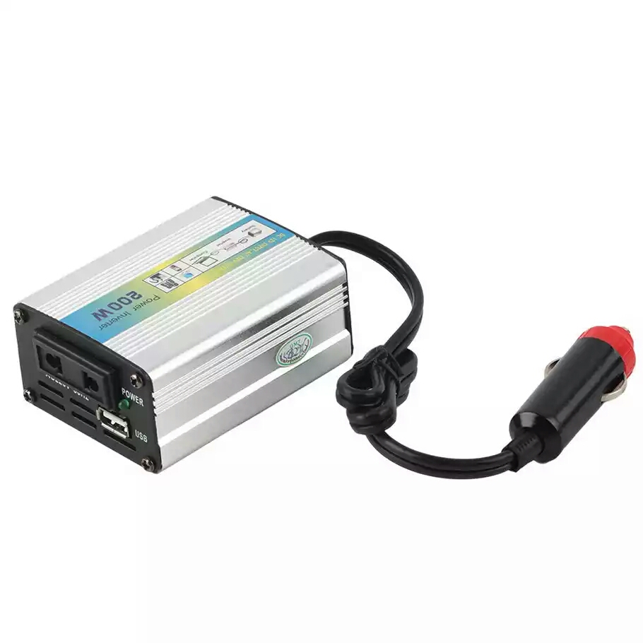 цена на 1pcs 12V DC to AC 220V Car Auto Power Inverter Converter Adapter Adaptor 200W USB/xj
