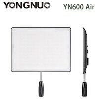 В наличии! Новый YONGNUO YN600 Air светодиодный свет Панель 5500 К и 3200 К-5500 К Би-цветной фотографии студийное освещение