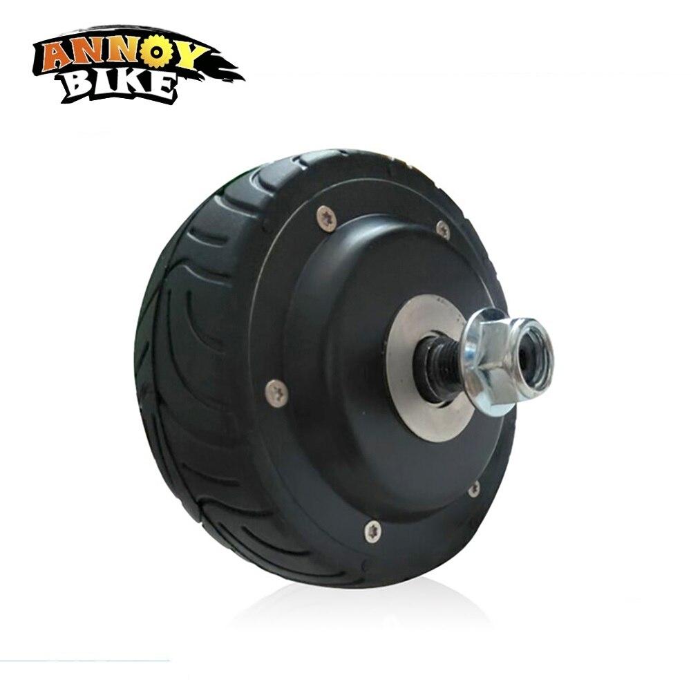 4 zoll 24V36V BLDC elektromotor rad Doppel Einzigen welle Hub Motor für ebike elektrische roller conversion kit ebike motor