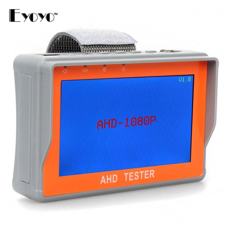 Free Shipping 4 3 AHD CVBS Analog font b Camera b font CCTV Security Tester LCD