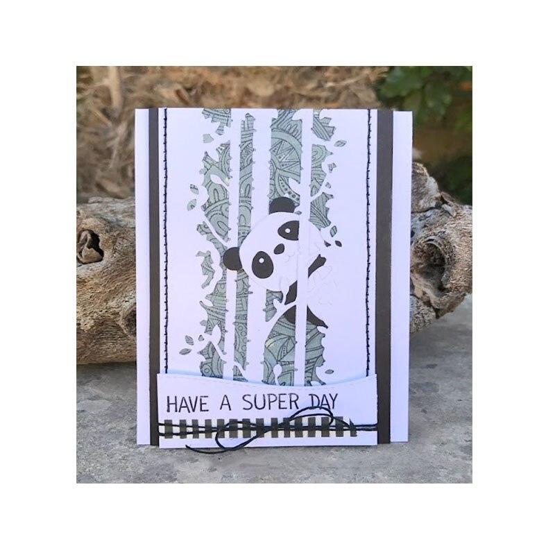 Cute Cartoon Panda Animal Metal Die Cuts Metal Cutting Dies For DIY Scrapbooking Photo Album Embossing Card Crafts New 2018 Die  ...
