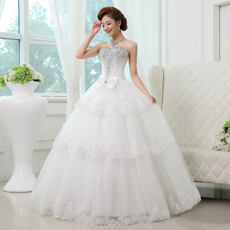 Princess Lace Bridal Ball Gowns Modest Country Wedding: Sexy Ball Gown China Wedding Dress Luxury 2017 High