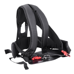 Image 2 - Grass Cutter Accessories Double Shoulder Strap Harness For Brush Cutter With Confortable Shoulder Padsleg Protection Panel