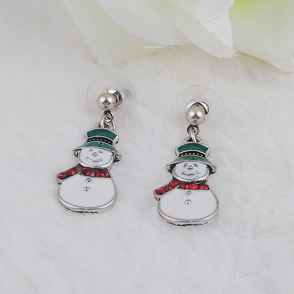United States Christmas Ornaments Part - 25: Vintage Ear Charms The New Europe And The United States Christmas Ornaments  Drip Santa Claus Ear Accessories Alloy-in Charms From Jewelry U0026 Accessories  On ...
