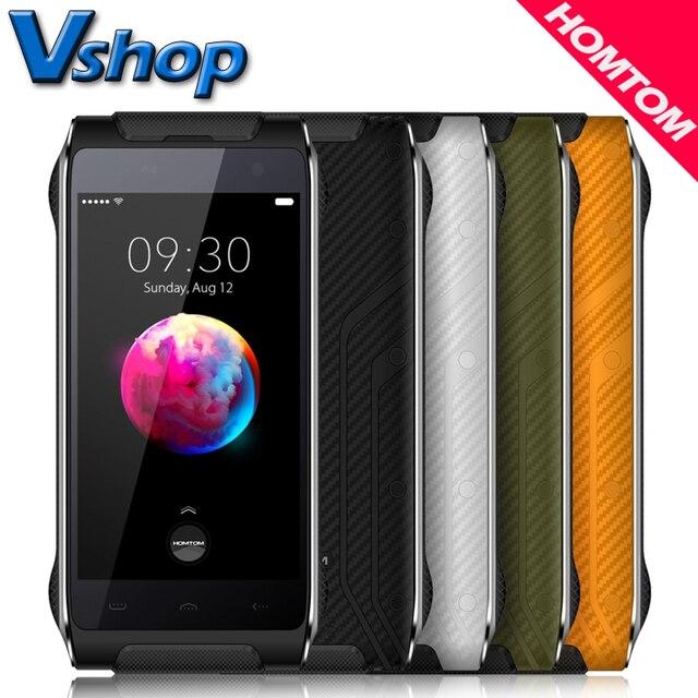 Homtom HT20 Pro HT20 4G Mobile Phones Android 6.0 3GB / 2GB RAM 32GB / 16BG ROM IP68 Waterproof 4.7 inch Dual SIM Cell Phone