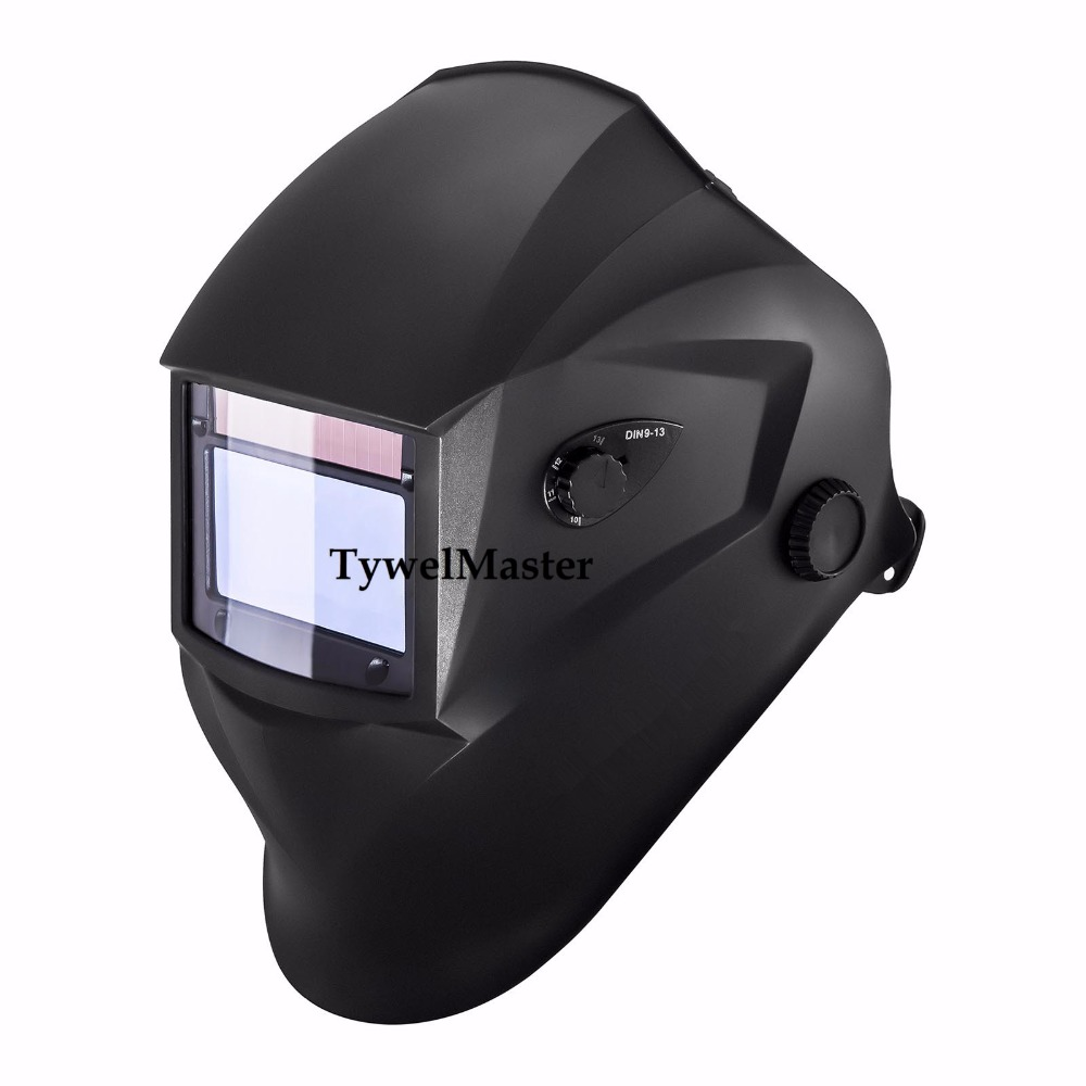 Welding Helmet Welding Mask Solar Auto Darkening View 98*55mm MIG TIG MMA Plasma Grinding 4 Sensors Optical 1211 CE UL CSA wedling tool football pro solar auto darkening shading tig mig mma arc welding mask helmet welder cap for welding machine