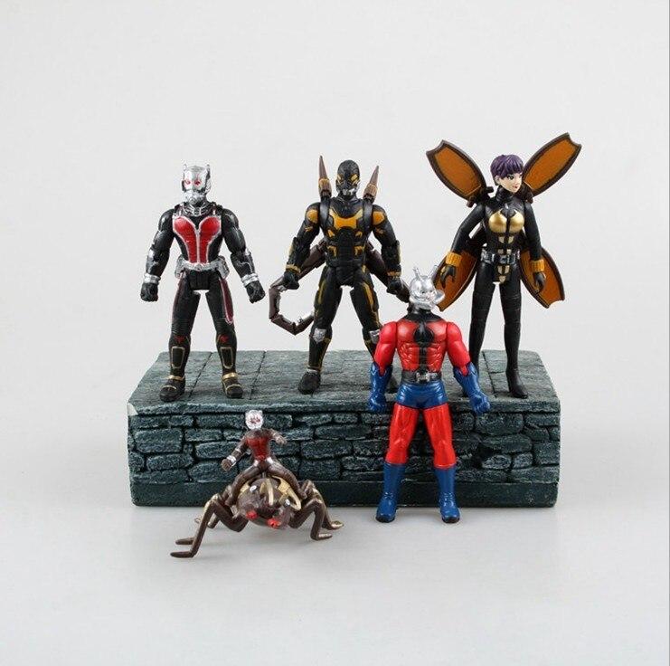 Wholesale 100Sets/Lot Ant Man Action Figures Toy D...